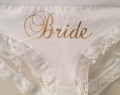Very Sexy Custom Panties Intimate wear,  lace underwear, lingerie  ~~~   Bride