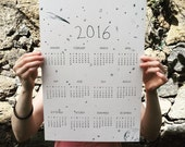 A Stellar Year: 2016 Screen Printed Calendar
