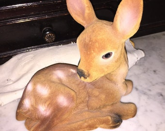 Lucie Sable Imports Flocked Deer