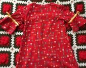 70s Toddler Dress 3/4