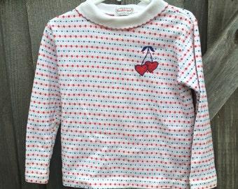 Health-tex Cherry Shirt 4/5T