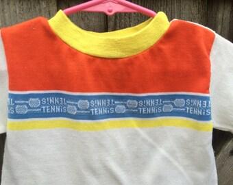 70s Tennis T-Shirt 18/24 Months