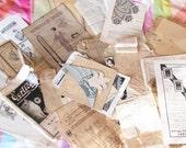 Fashion Papers...Scrumptious Vintage Ephemera Lot