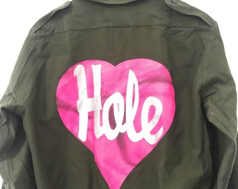 Vintage Hole Army Shirt