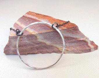 Hand forged Solid Sterling Silver Necklace