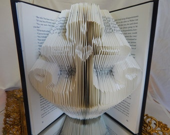 Let Love be your Anchor ~ Folded Book Art
