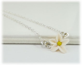 Tiny Jasmine Necklace - Jasmine Jewelry