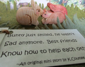 Mini Read Along Book, Book for Kids, Waldorf Play, Toddler present, gift for kids, toddler gift, play along
