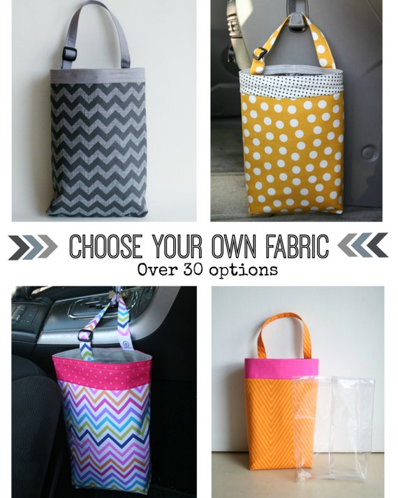 Choose your own fabric car litter bag car trash bag car for Choose your own home