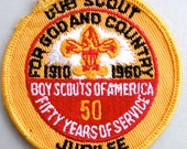 BSA 1960 Jubilee Patch