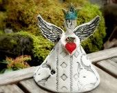 Custom Fairy Queen holding Sacred Heart