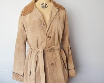 Nino Cerruti Suede jacket short coat