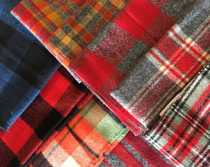 SALE Scrap Fabric, Flannel Fabrics Scraps, End of Bolt, Fabric Shoppe fabrics. Best Seller! Limited quantity of these!! 1/2 LB scraps!