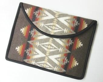 "13"" MacBook AIR or Macbook Pro RETINA Laptop Cover Sleeve Case New Blanket Wool from Pendleton Oregon"