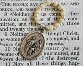 Rosary Ring - Catholic rosary beads Holy Family Sacred Heart Jesus beads Italy prayer Saint prayers