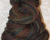 Handspun Yarn - Merino, Blueface Leicester, Silk
