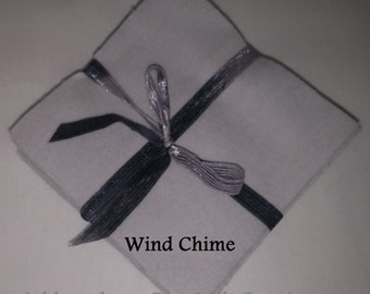 Solid WIND CHIME Flannel Squares, FLANNEL Fabric, Rag Quilt Squares, pick colors quantity and size, We Cut You Sew