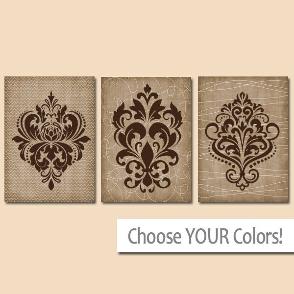 Damask Wall Art damask wall art canvas or prints french country artwork