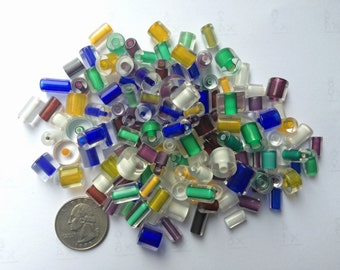 5 oz. Solid Color Mix Furnace Cane Glass Beads