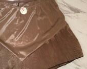 Vintage 1980s tap pants gold lingerie shorts lounge shorts
