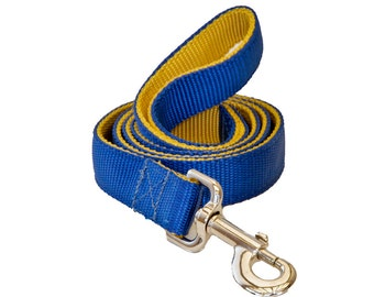 Two Color Double Ply Nylon Dog leashes - 4FT & 6FT