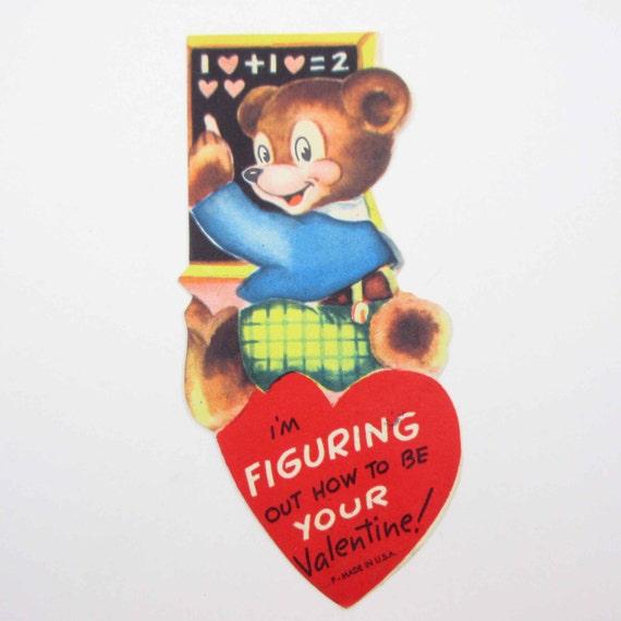 Valentines Day Bears Vintage Cards Valentine S Day Wikii