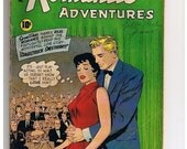 Valentines Day Sale 1959 My Romantic Adventures, True Love Confessions Comics, It's just play acting to him, he doesn't know that I really L