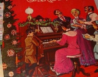 Valentines Day Sale 1964 Christmas Carols christmas Music by Karl Schulte, Whitman Publishing, Christmas Carols, Holiday Music, Dickens Caro