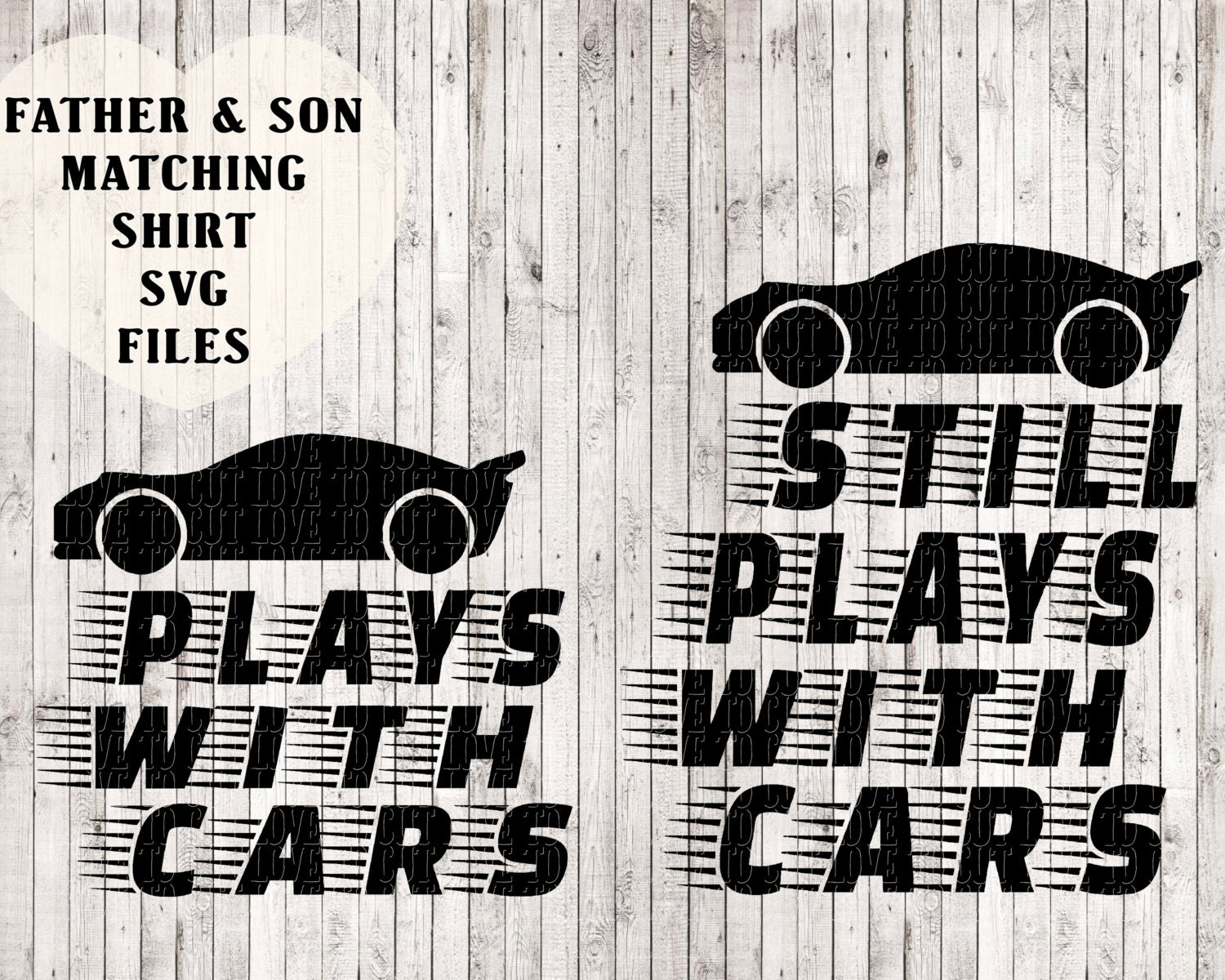 father and son matching shirt svg files kids svg car svg