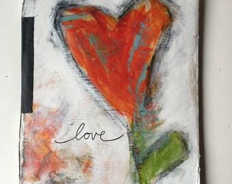 Handmade Journal blank book.....love
