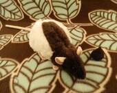 Dark Brown Half-Hooded Rat Plushie