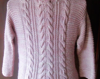 Gaelica - A Cabled Pullover in pdf