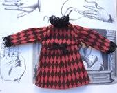 harlequin dress for blythe