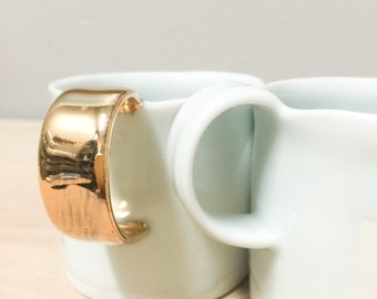 Reserved for Betty - porcelain cup with translucent bottom