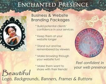 BRANDING PACKAGE, Website & Business, Enchanted Presence Design, Professional, Unique, Beautiful, Memorable