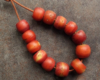 Antique Cornaline Beads from the African Trade