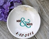 Mr & Mrs Ring Bearer Bowl, Ring Pillow Alternative, Wedding Ring Holder, Ring Pillow, Ring Bowl, Ring Dish, Wedding Ring Dish, Ring Warming