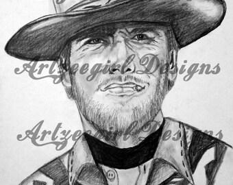 Clint Eastwood , Print
