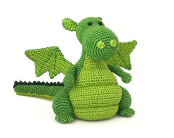 Yoki the dragon amigurumi crochet pattern