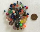 Various glass beads H8
