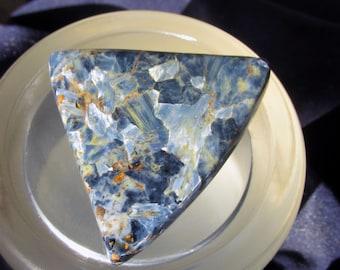 Zambian Pietersite Cabochon In Shades of Blue