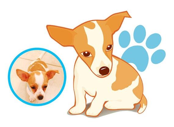Custom Portrait, Animal illustration with high resolution