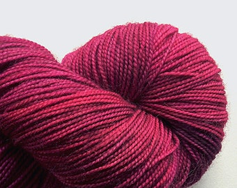 Hawthorne hand-painted Highland wool-blend fingering-weight yarn from Knitpicks, color Rose City, great yardage, 20% off!)