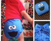 Sesame Street Diaper Cover - Cookie Monster