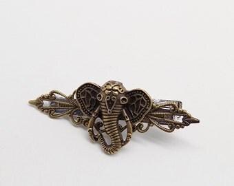 Steampunk jewelry. Steampunk tie tack. Steampunk tie clip.