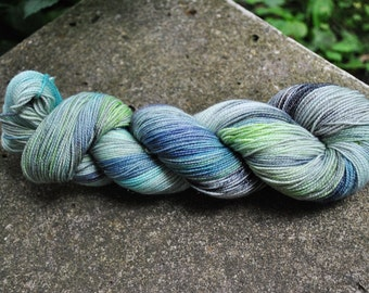 Spark Sock Yarn - Department of Mysteries Colorway - Inspired by Harry Potter