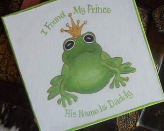 I Found My Prince His Name Is Daddy Frog Prince Painting