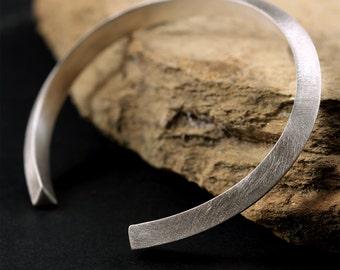 Mens Bracelet, Cuff Bracelet, Silver Bracelet, Mens Jewelry, Womens Bracelet, Mens Gift, Boyfriend Gift, Bracelet for Men, Gift for Husband