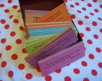 little plastic prayer box