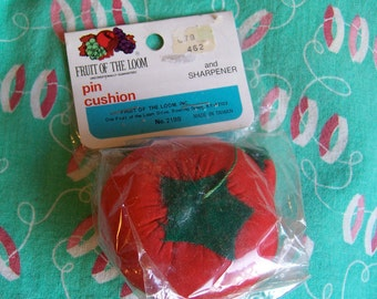 fruit of the loom vintage pin cushion